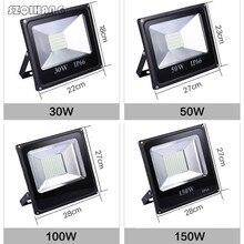 30W 50W 100W 150W 200W 300W 400W Reflector LED Flood Light Waterproof IP66 Spotlight Wall Outdoor Lighting Warm Cold White