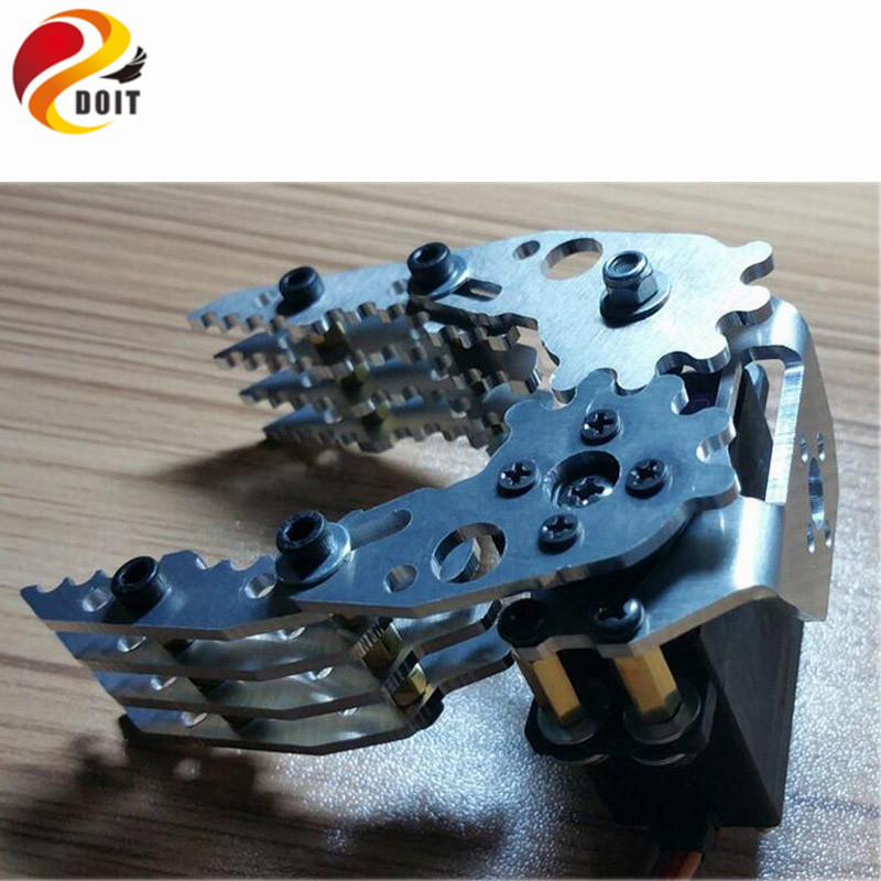 DOIT Robot Gripper Manipulator CL-4 Robot Hand Fingers Paw Mechanical Claws G6 Free Shipping 5dof robot humanoid metal manipulator five fingers anthropomorphic left right hand with servo