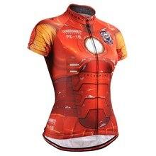 Mujeres Ciclismo bicicleta Bicicletas Jerséis Camisas ropas bicicleta  transpirable Tops Camisas Ironman Bicicletas cothing s-xxl d89359bc0