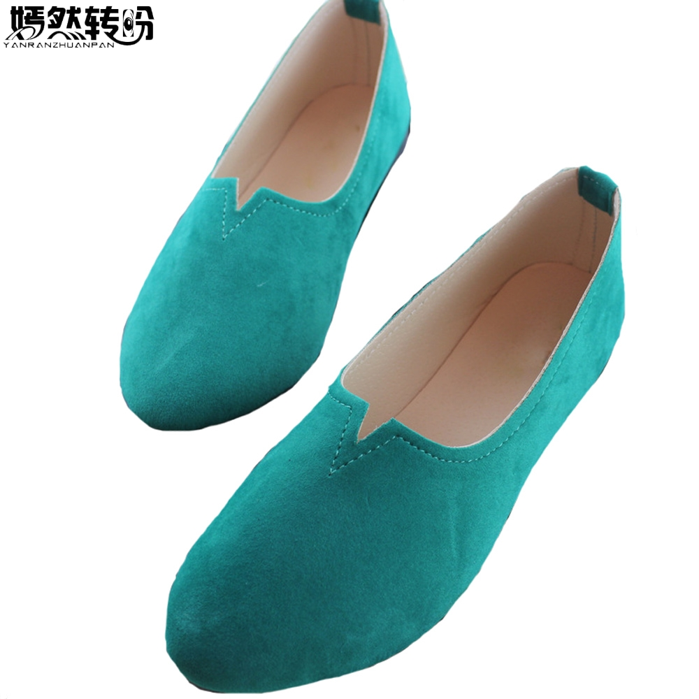 Women Flats Candy Color Soft Shoes Woman Summer Casual Lady Slip On Drive Shoes Zapatos Mujer Chaussures Femme Plus Size 43 красота и уход gezatone массажер для ухода за лицом amg107