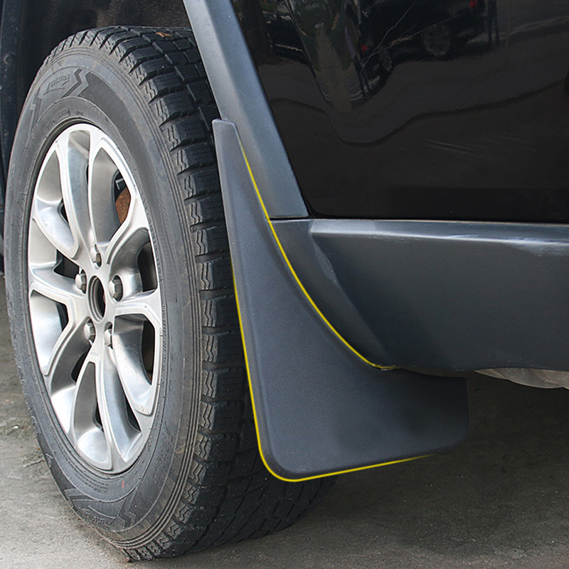 2014 2018 For Jeep Grand Cherokee Exterior Mud Splash Flaps Guards Mudguards 4pcs Plastic