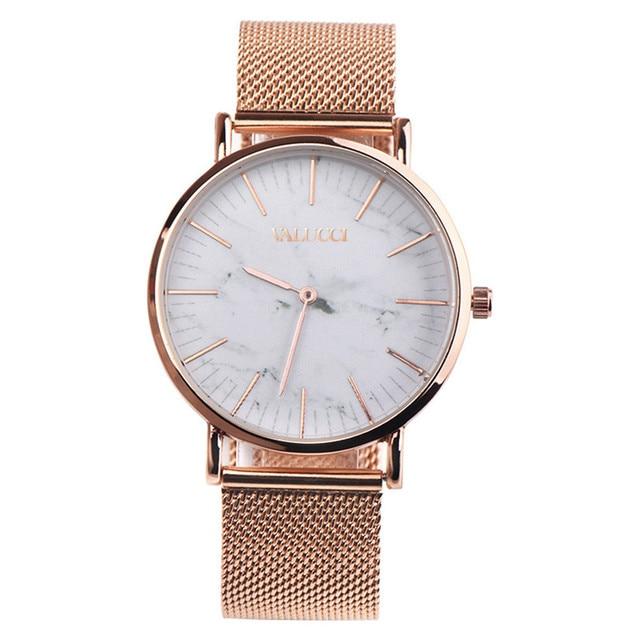 Fashion Women Men Watch Stainless Steel Couple Quartz Analog Wrist Watch Luxury