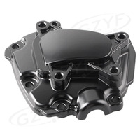 Engine Stator Crank Case Generator Cover Crankcase For Yamaha YZF R1 2009 2010 2011 2012 2013 2014 CNC Aluminum Black