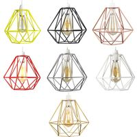 Geometric Lampshade Hollow Design Pendant Lightshade Lighting Accessories For Home Living Room