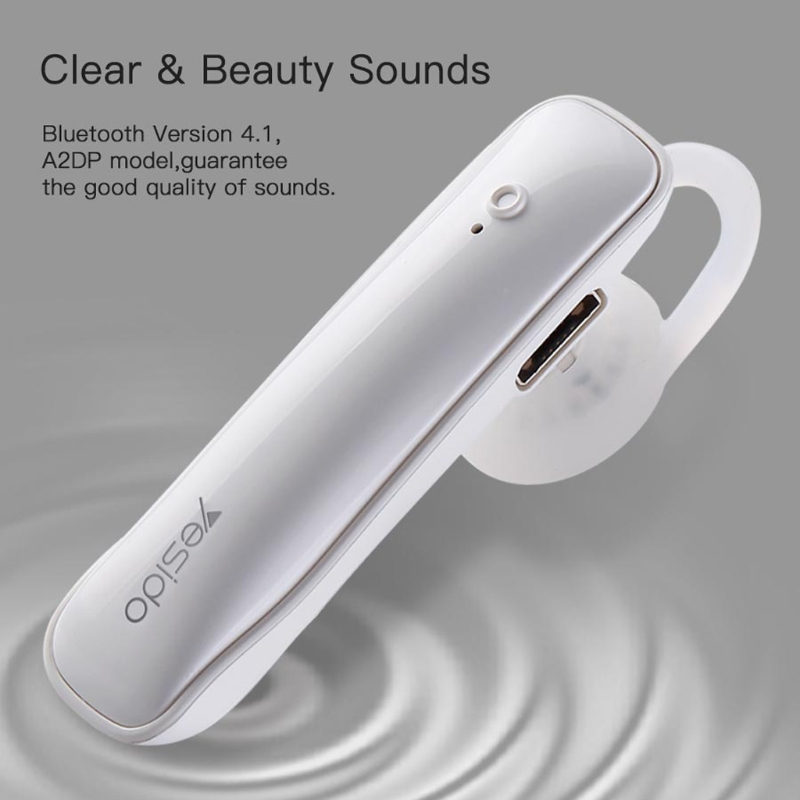2018 New Arrival Wireless Bluetooth 4.2 Music Headset With Noise Canceling Handsfree Microphone Plastic Bluetooth Headset