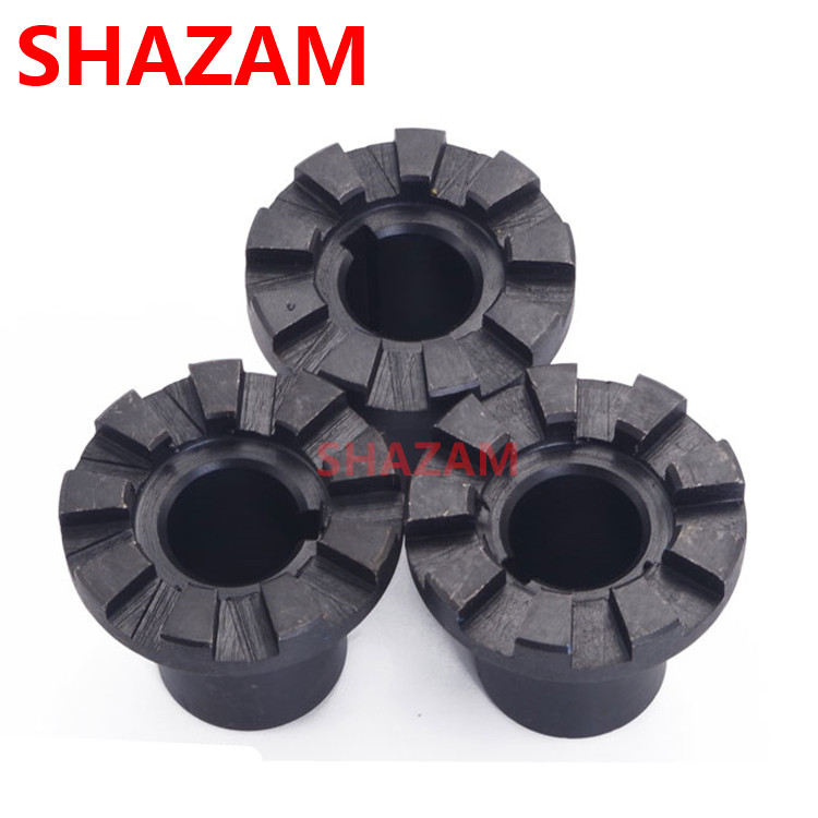 Turret Milling Machine Lifting Handle Joint 9Teeth Axis Clutch SHAZAM Accessories C85 Carbon Steels Spindle Clutch Wrok Tools
