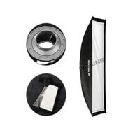 Meking Soft Box 30cmx120cm 12 X48 Strobe Monolight Softbox With Speedring Bowens Mount Photographic Photo Studio