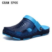 Gram Epos мужской прогулки пляжные сланцы повседневная мужская обувь летние модные пляжные шлепанцы Sapatos Hembre Sapatenis Masculino