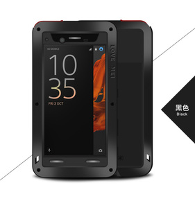 Image 4 - Love Mei Armor Shockproof Case For Sony Xperia XZ Cover Metal Aluminum Waterproof Case For Sony Xperia XZ F8332 F8331 Cover Capa