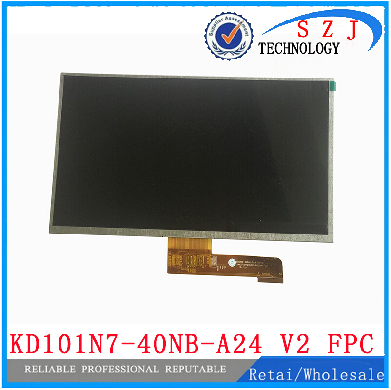 Original 10.1 inch LCD Display kd101n7-40nb-a24 v2 fpc FPC3-WS10105A LCD Screen Digitizer Sensor Replacement Free Shipping