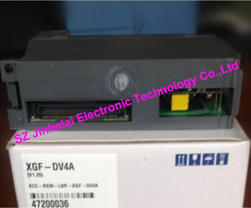 100% New and original  XGF-DV4A  LS(LG)  PLC  Special module Analog output module 100% new and original xbe dc16a ls lg plc 16 point dc24v input