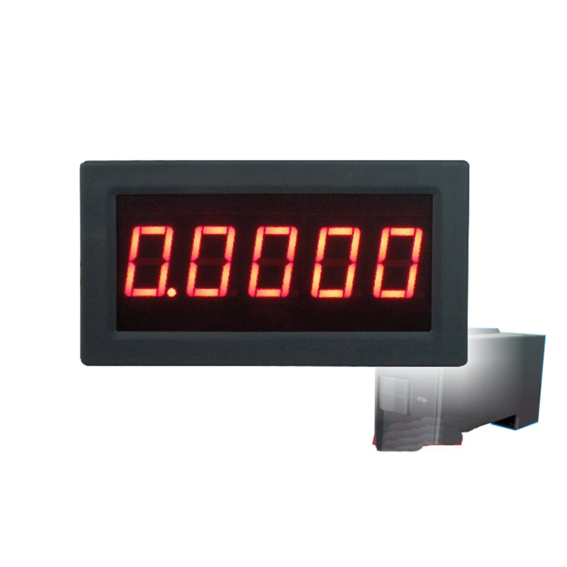 High precision accuracy 0.56 5 Digits DC Ammeter Digital amp meter panel Meter LED current Tester Gauge monitor dc 100a analog ammeter panel amp current meter 85c1 gauge 0 100a dc shunt