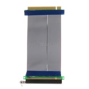 Image 2 - Pci E 16X Om 16X Riser Extender Card Adapter Pcie 16X Pci Express Flexibele Kabel Rental & Dropship