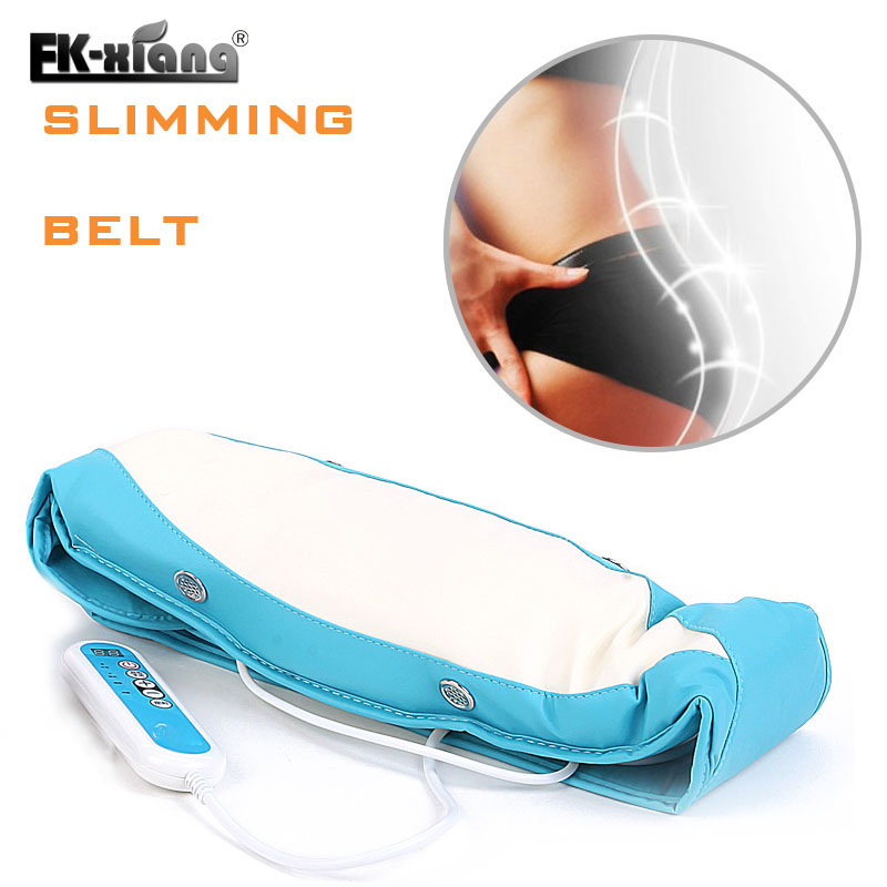 Electric Waist slimming Belt Women Slimming Sauna Belt Vibration Lose Weight Massage Belt Fat Burner Belly Tummy abdomen reduce weight thin waist belt 4800times min vibration massage rejection fat weight lose shake shake belt slimming belts