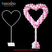 B403 Wedding Decoration Heart Frame Balloon Stand Balloon Arch Column