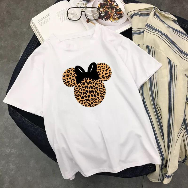 Disney Femme Minnie Mouse Waving T-Shirt