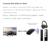 2 en 1 10 m/33 FT Inalámbrica Bluetooth 4.0 + EDR Adaptador de Audio Del Transmisor y el Receptor de Streaming de Música Estéreo L3FE