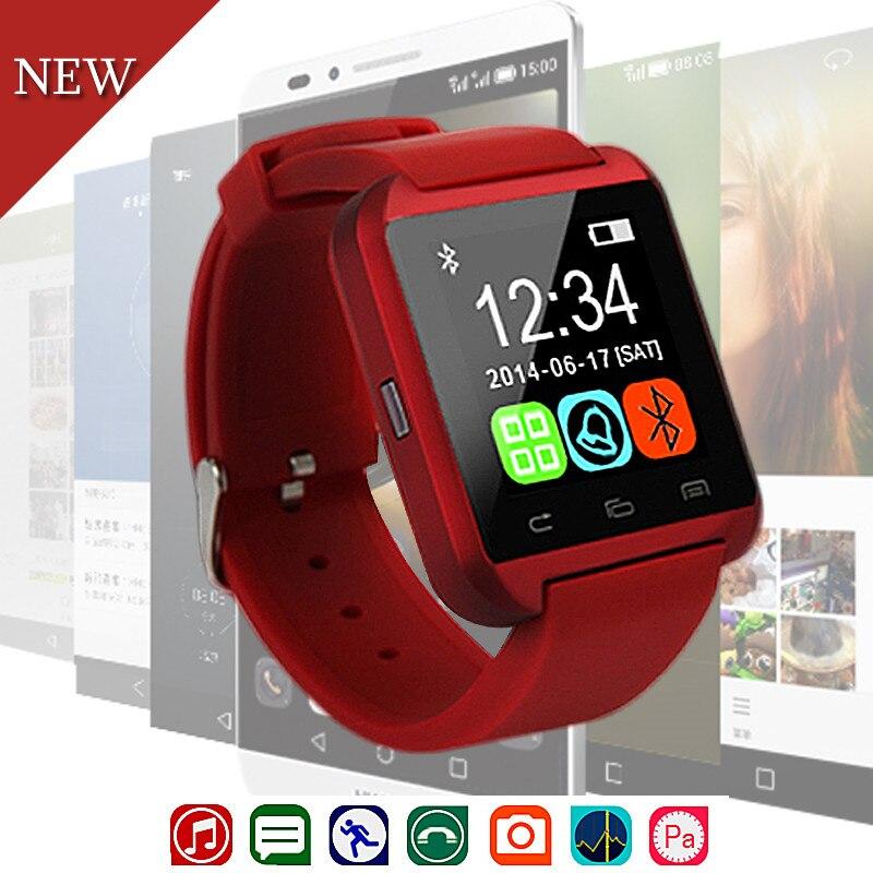 Nueva de moda deporte U8 reloj inteligente electrónica inteligente de reloj podómetro para Mujeres Hombres Unisex reloj inteligente PK U8 GT08 DZ09