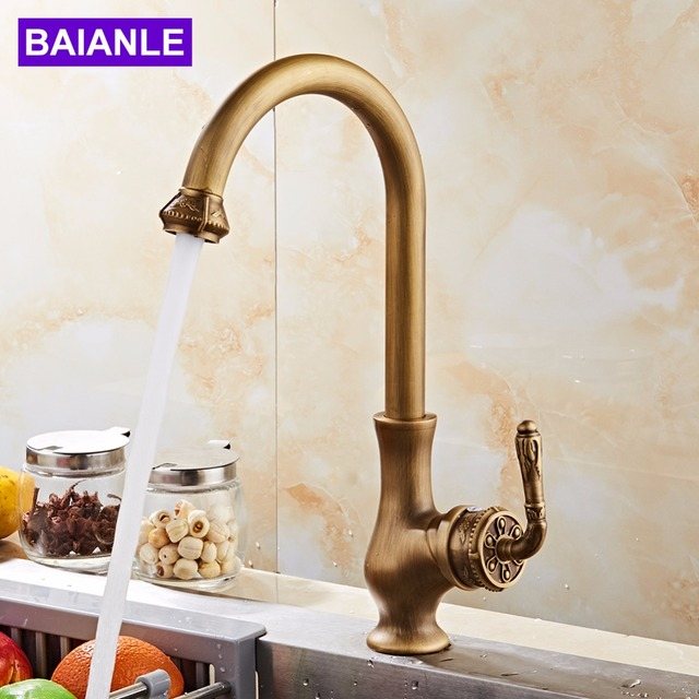 Kitchen Faucet Free Shipping Antique Bronze Finish Kitchen Bathroom