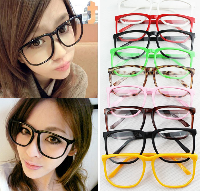 aliexpresscom buy free shipping fashion big clear lens acetate frame oversized eyeglasses frames for women men many colorsty3687xd from reliable frame
