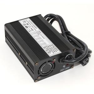 Image 4 - 42V 2.5A 리튬 이온 배터리 충전기 알루미늄 케이스 10S 36V Lipo/LiMn2O4/LiCoO2 배터리 스마트 충전기 자동 정지 스마트 도구