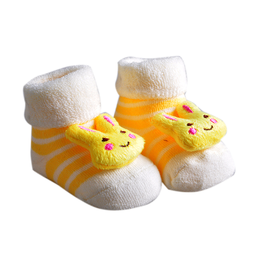 2018 Newborn 0-6 Month Boy Girl Unisex Hot Sales Cotton Soft Anti Slip Socks Infant Cute Winter Fashion Style Sock
