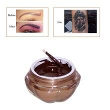 Atramenty do tatuażu 1 szt. Głębokie pigmenty do makijażu permanentnego pigment do tatuażu do nakładka zderzaka do brwi Microblading