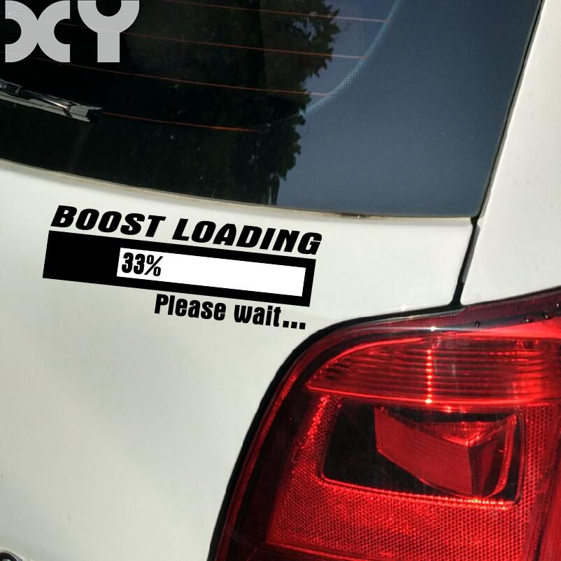 Vinyl Wrap Reflective Tape Boost Loading Car Stickers for Volkswagen Polo Scirocco Golf Jetta Tiguan and So On