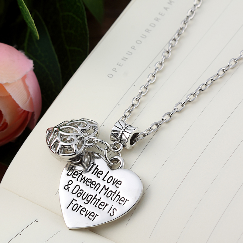 The Love Between Mother Daughter Is Forever Necklace Sellimart