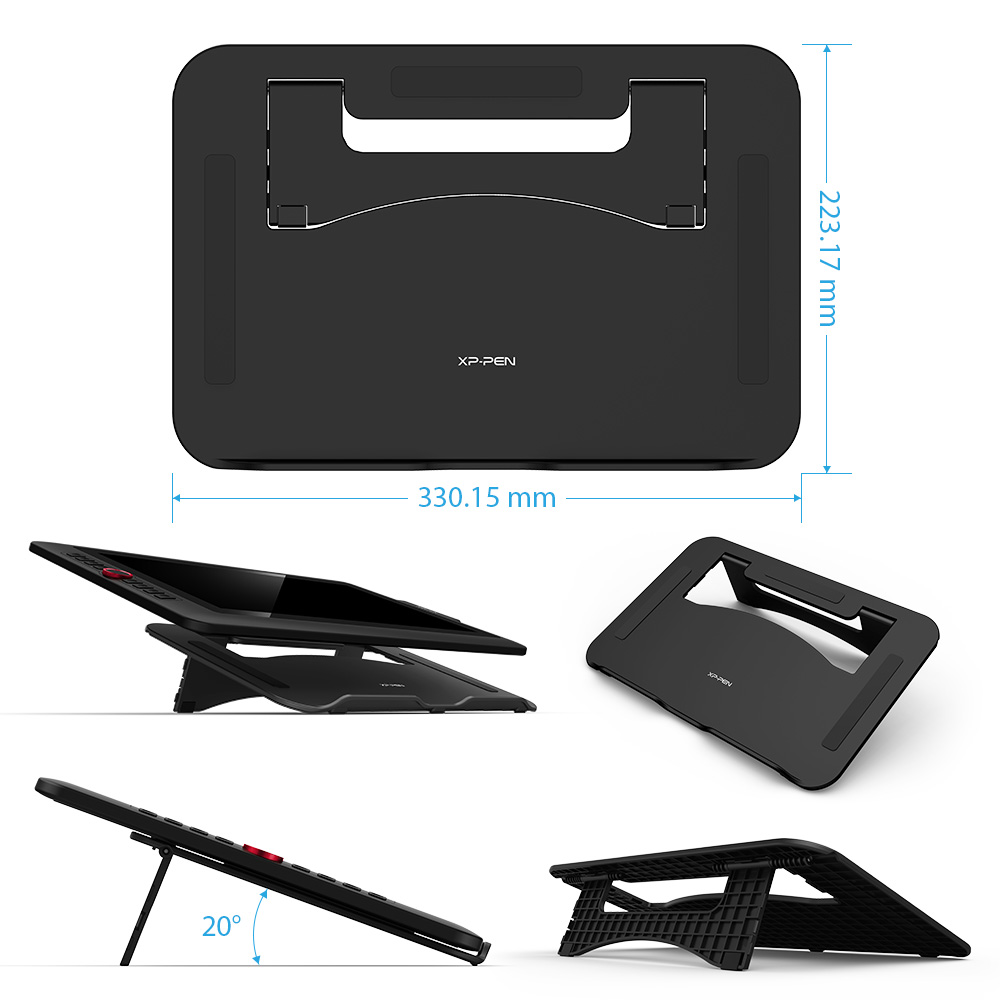 XP-Pen Artist15.6 Pro dessin tablette graphique moniteur numérique tablette Animation planche à dessin avec 60 degrés d'inclinaison fonction Art - 5