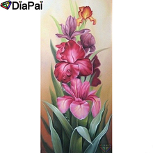 DIAPAI Diamond Painting 5D DIY 100% Full Square/Round Drill Flower landscape Diamond Embroidery Cross Stitch 3D Decor A23082 цена