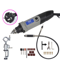 Grinder 400W dremel Style Electric Variable Speed for Dremel Rotary Tool Mini Drill Mini Grinder for Dremel Tools Grinding