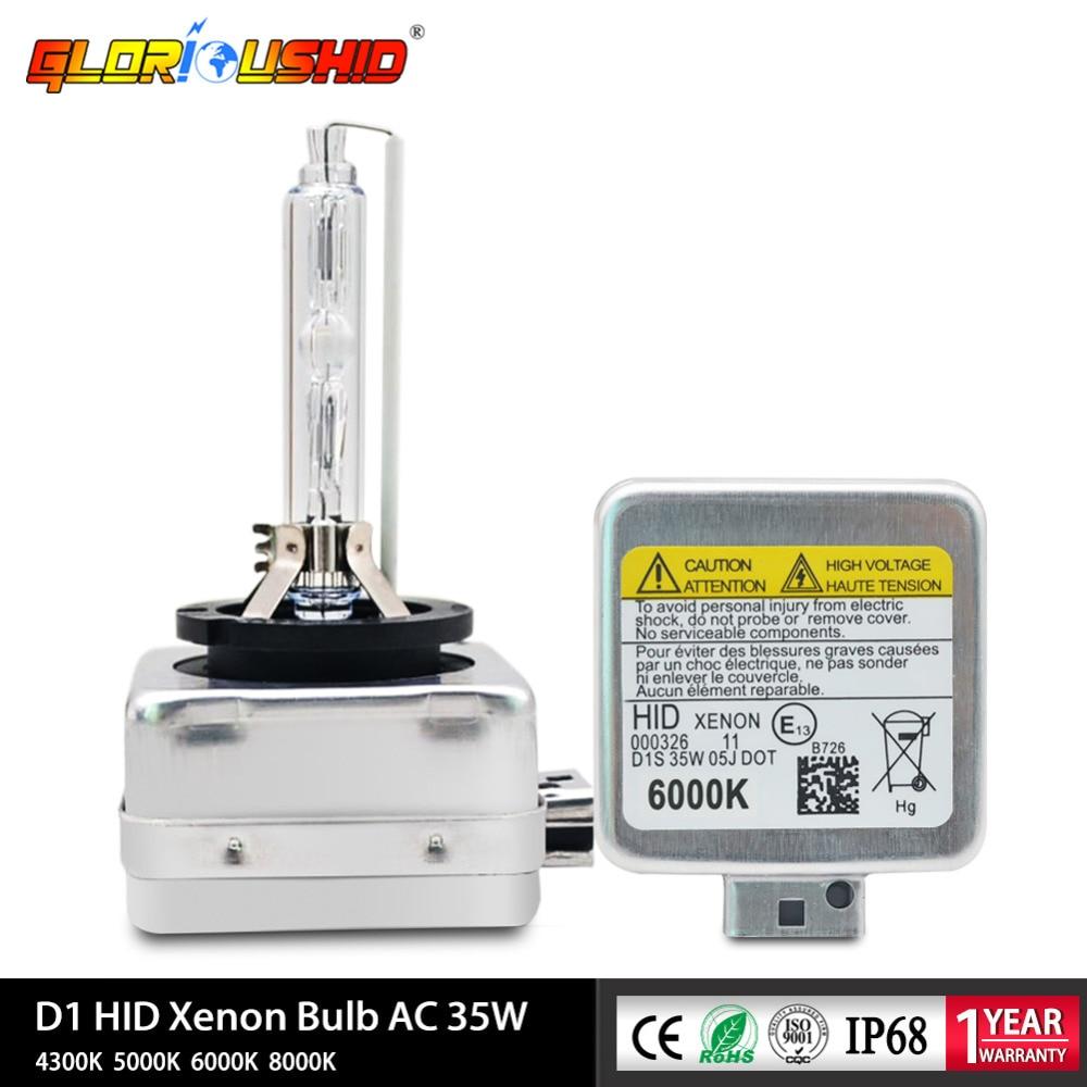 2db xenon D1S D1C HID Izzó csere 4300K 5000K 6000K 8000K xenon - Autó világítás - Fénykép 1