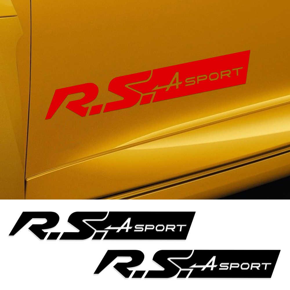 Calcomanía deportiva para coche con diseño de puerta de carreras lateral de R. S calcomanía deportiva para Renault Clio Twingo Megane R276 Copa trofeo de accesorios