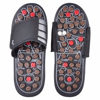 Shoe Sandal Reflex Massage Slippers Rotating Acupuncture Foot Healthy Massager Shoe