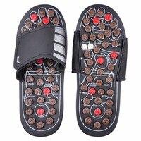 حذاء صندل القدم الصحة الرفلكسولوجي تدليك القدمين بقية بيبل ستون مدلك الأحذية المسنين منتجات الرعاية الصحية