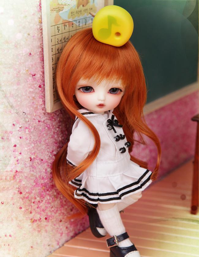 yosd ai 1/8 Aileen Dangon BJD Doll BJD/SD Fashion LOVELY model Resin Joint Doll For Baby Girl Birthday Gift random eyes