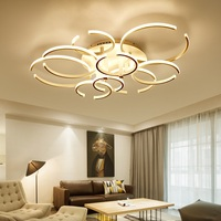 Creative Scandinavian Art LED Ceiling Lamp Living Room Bedroom Dining Room Aisle Ceiling Light Commercial Lighting