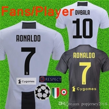 275bf490906 best quality 2018 2019 Juventus Soccer Jersey best quality Home away  RONALDO DYBALA football 1819 shirt