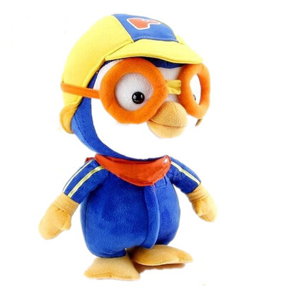 Recommended Korea Pororo Little Penguin Plush Toys Cartoon Penguin Plush 28cm посуда для детей little penguin pororo