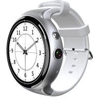 Роскошные gps Смарт часы IQI I4 IP54 Водонепроницаемый монитор сердечного ритма Поддержка wi fi 3g мобильный телефон для ОС Android 5,1
