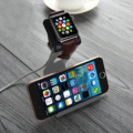 Серый Алюминий Стенд Зарядки Док-Станция Держатель Для iPhone Apple Watch США S2EG