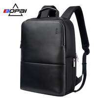 BOPAI Brand Laptop Backpack Anti theft Backpack Men 15 Inch Microfiber Shoulders Travel Laptop School Bag Backpack Waterproof