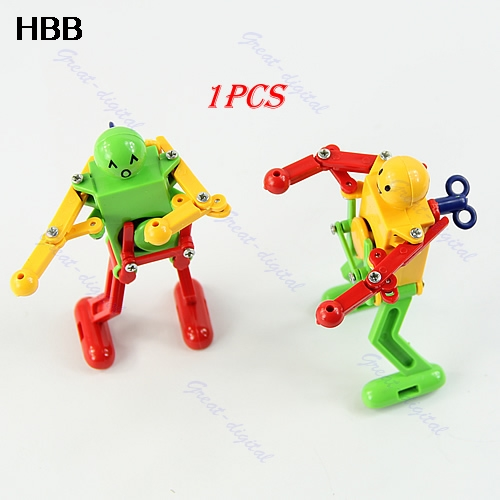 1x New Children Kids Funny Plastic Clockwork Wind Up Windup Party Toy Gifts