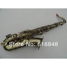 DHL,UPS free STS-54 selmer tenor saxophone instruments Reference 54 bronze brass instruments Antique Copper tenor mouthpiece sax