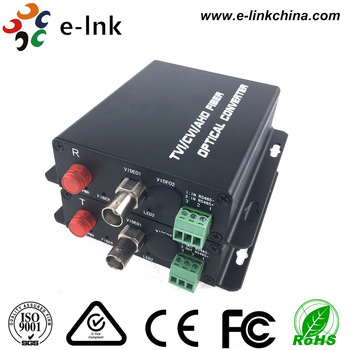 1Ch 720P AHD TVI CVI video to Fiber Convertver without RS485 SM 20KM
