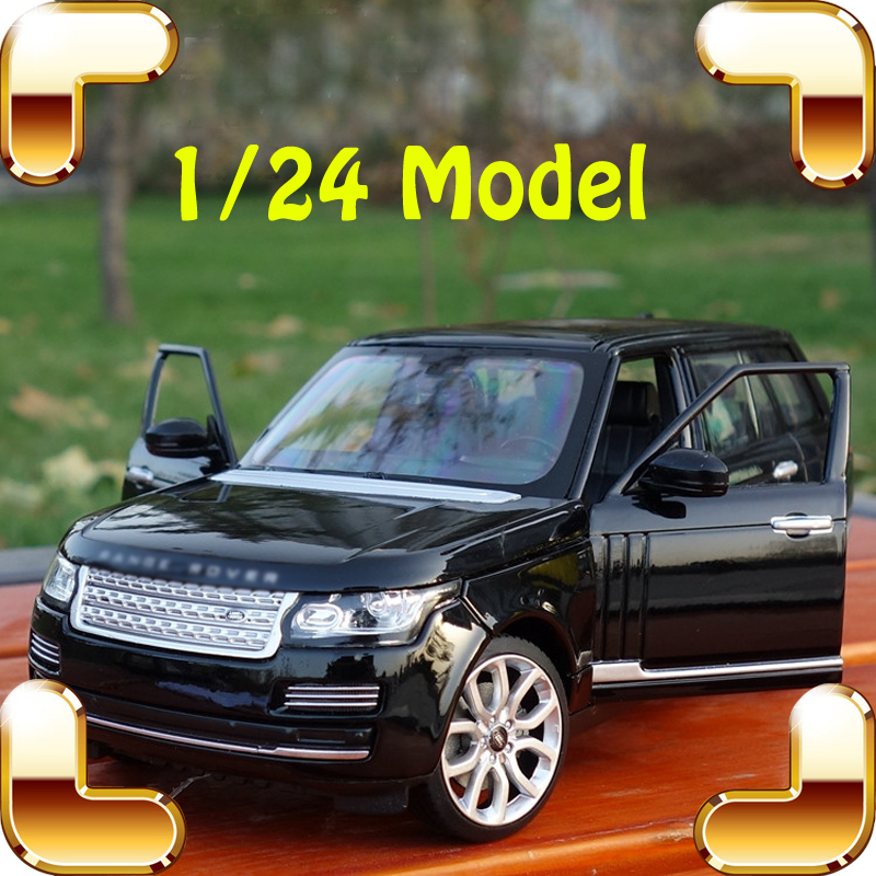 Hotsale Gift R R 1/24 SUV Model Car Metal Alloy Collection Toy Car Fans Decoration Detail Scale Model Jeep Type Present Toys new arrival gift rescue b 1 18 alloy jeep car model collection for pro fans toys vehicle large suv window decoration simulation