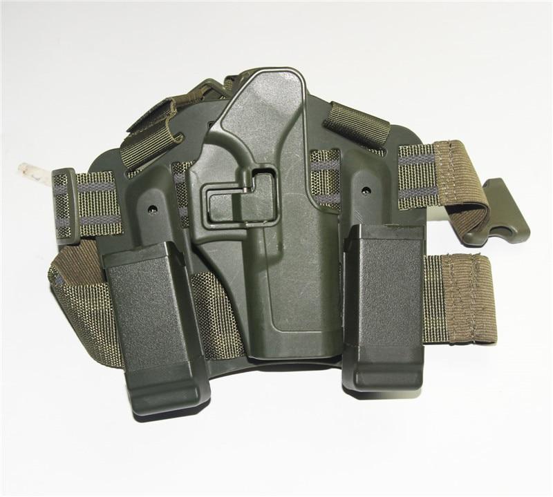 perna pistola coldre militar airsoft arma holsters