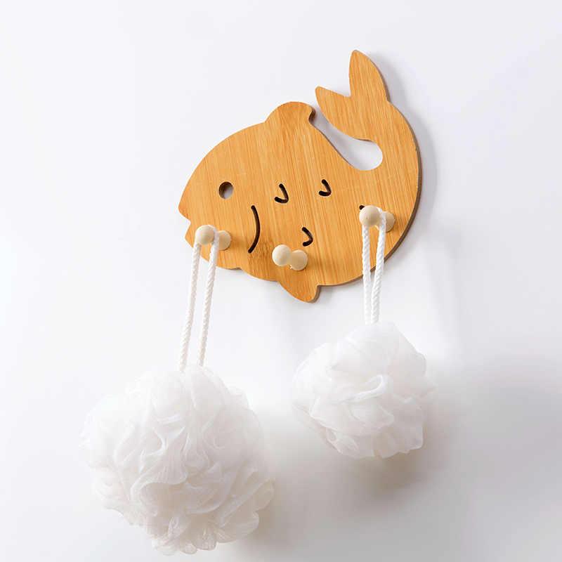 Милая птица/Любовь деревянный крюк настенная Вешалка Органайзер шляпа пальто крючки для одежды для подвешивания детской комнаты домашний декор