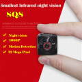 1080P 12MP HD Mini Camera Infrared Night Vision Outside Nanny Digital Micro Cam Motion Detection Camcordor Recorder